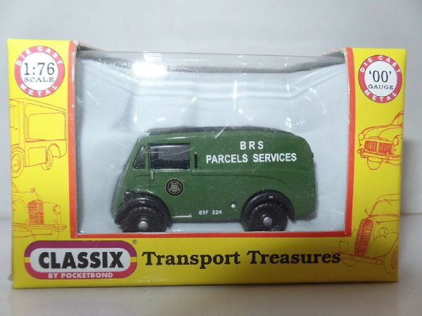 Classix EM76643 1/76 OO Scale Morris J Van BRS British Road Services SALE PRICE